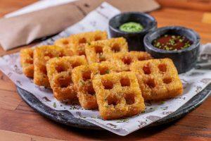 casaportena batata waffle quadrada